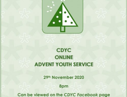 CDYC ONLINE ADVENT YOUTH SERVICE 29TH NOVEMBER, 2020 @ 8PM